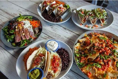 Tacos at Agave Shore