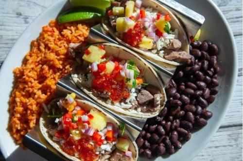 Taco Plate Agave Shore